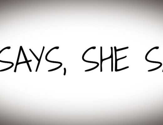 he says, she says