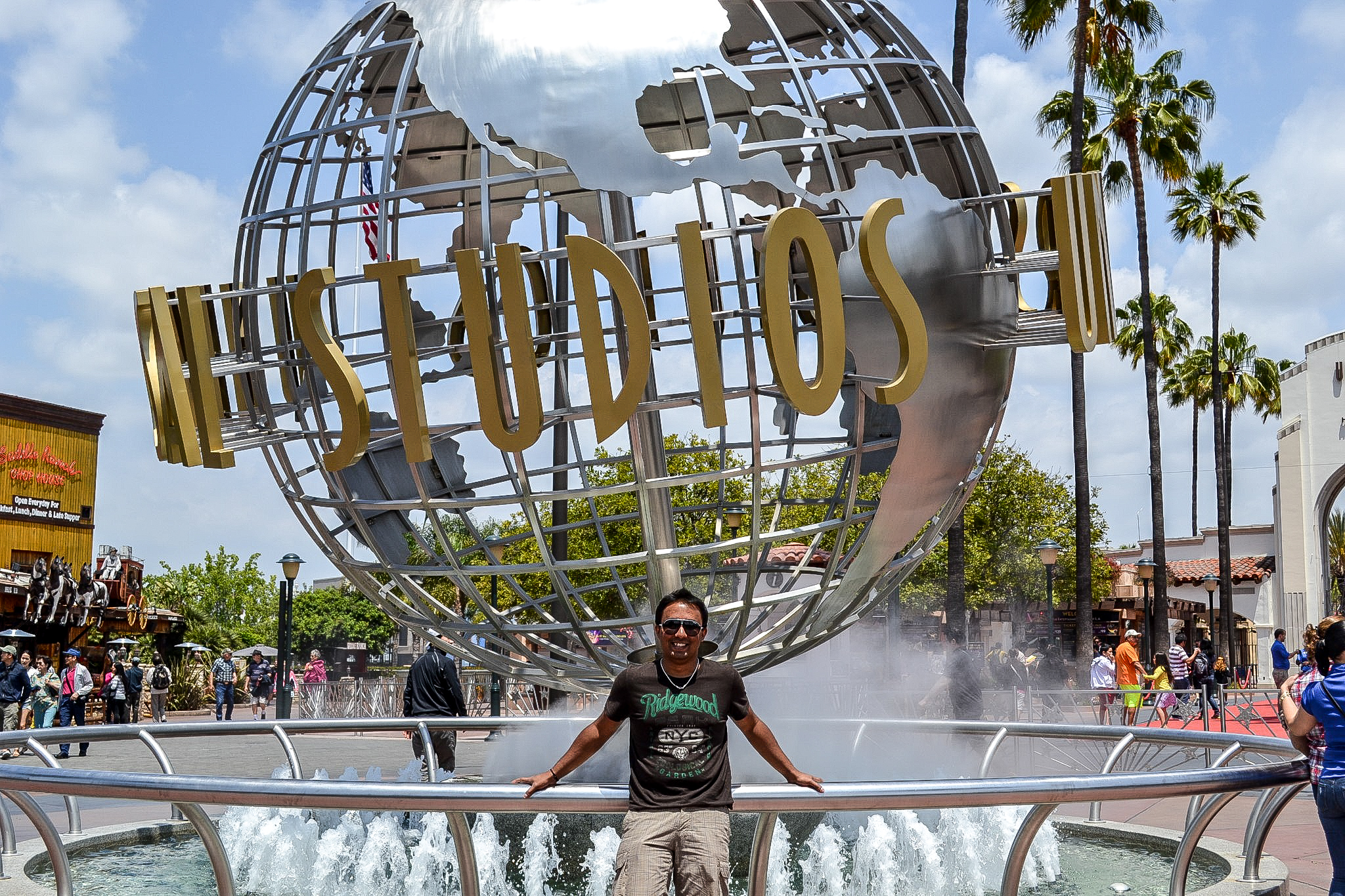 That mandatory picture - Universal Studios
