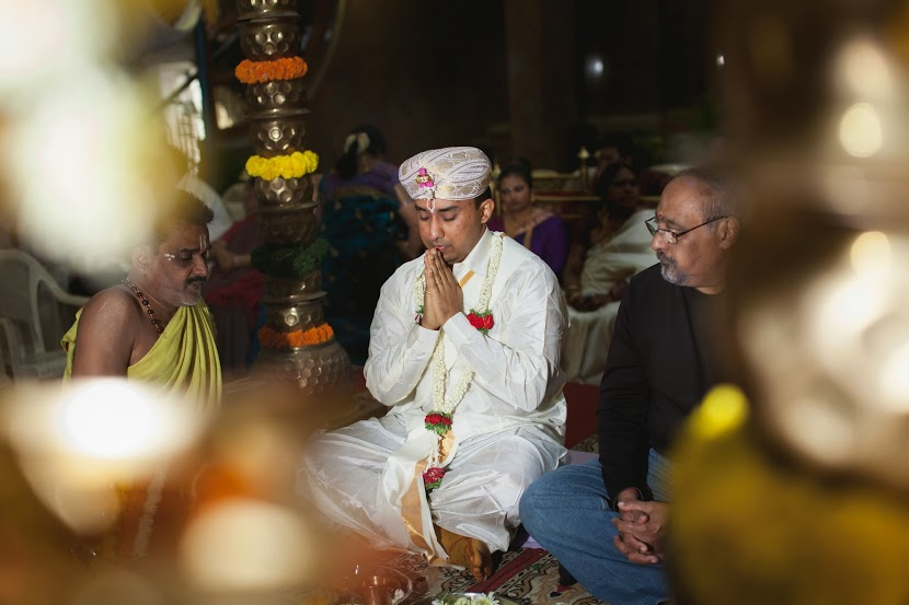 R praying seriously (is he?)