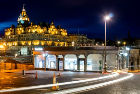 Edinburgh Waverly station