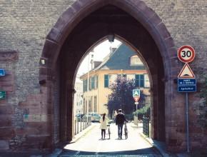 Couple in Strasbourg