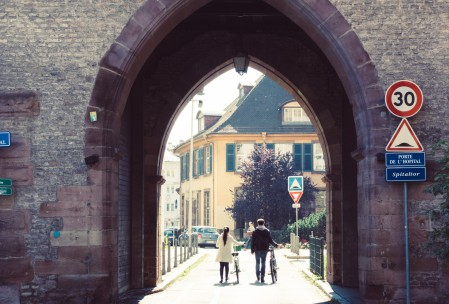 Couple in Strasbourg