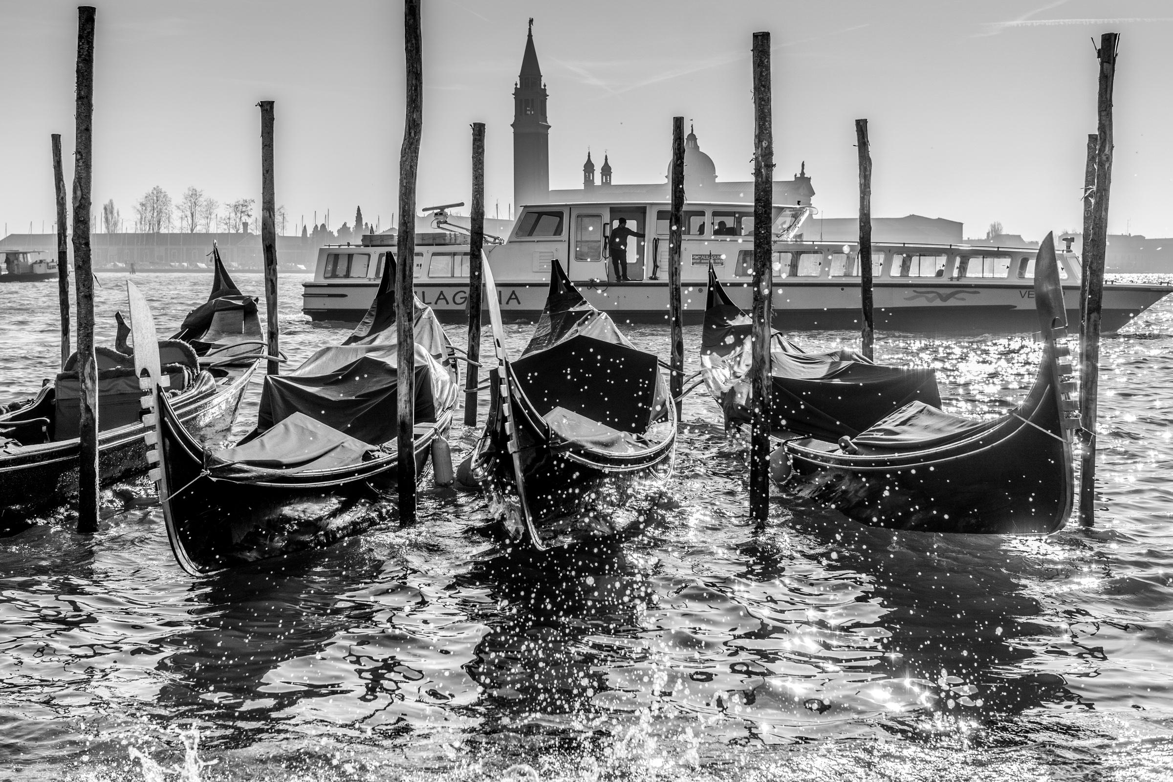 Docked Gondola Venice
