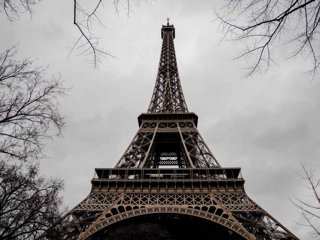Instagram worthy spots in Paris Eiffel Tower